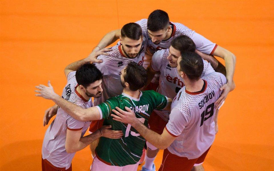 Министърът на спорта Красен Кралев поздрави волейболните ни национали за
