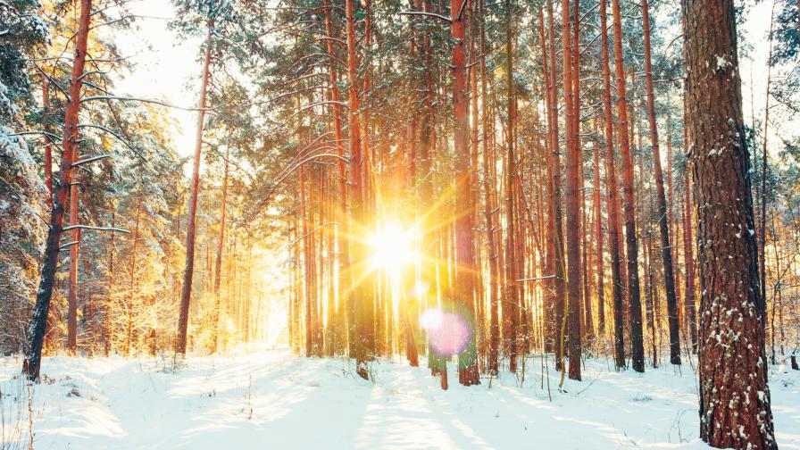 Слънчево в четвъртък, леко затопляне на времето