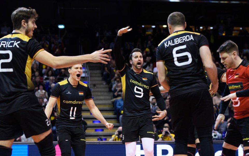 Звездата на немския национален волейболен отбор - Георг Грозер изрази