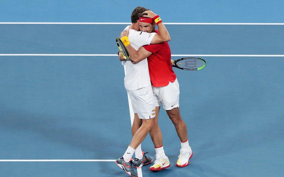 Испания изстрада последното място на 1/2-финалите на АТП Къп