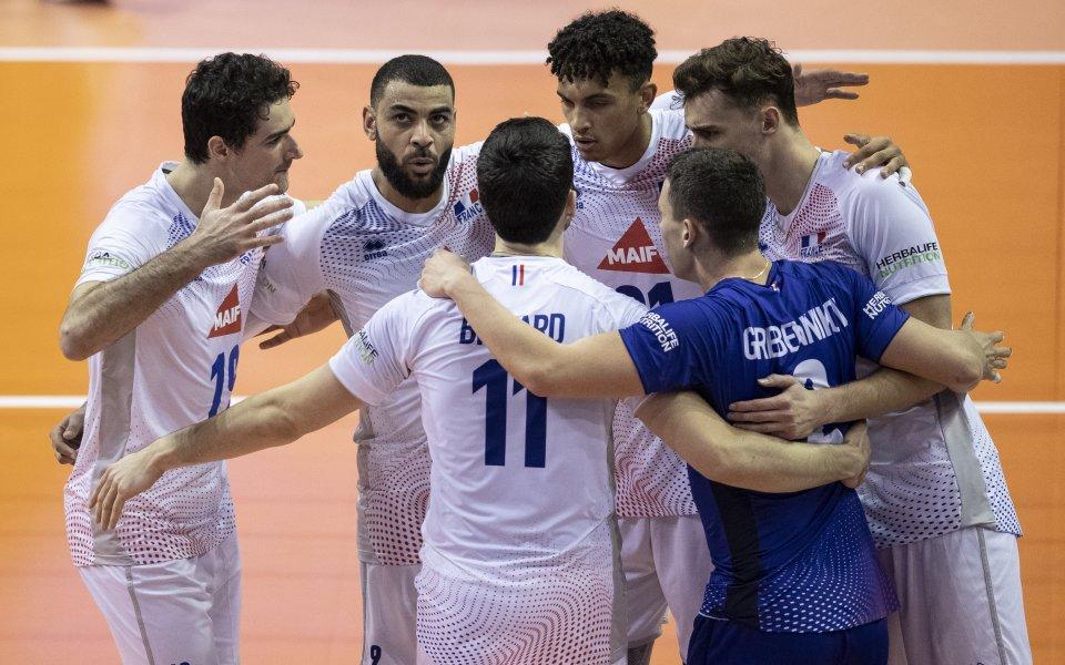 Мъжкият национален отбор по волейбол на Франция епоследният европейски отбор,