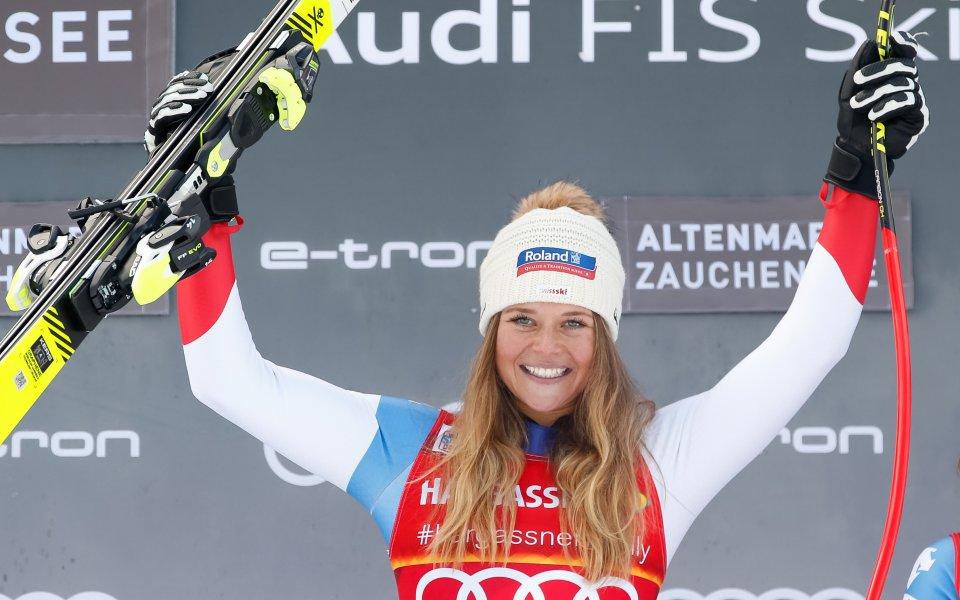 Швейцарка триумфира в Австрия