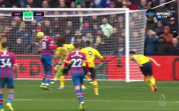Кристъл Палас натисна и изравни на Арсенал