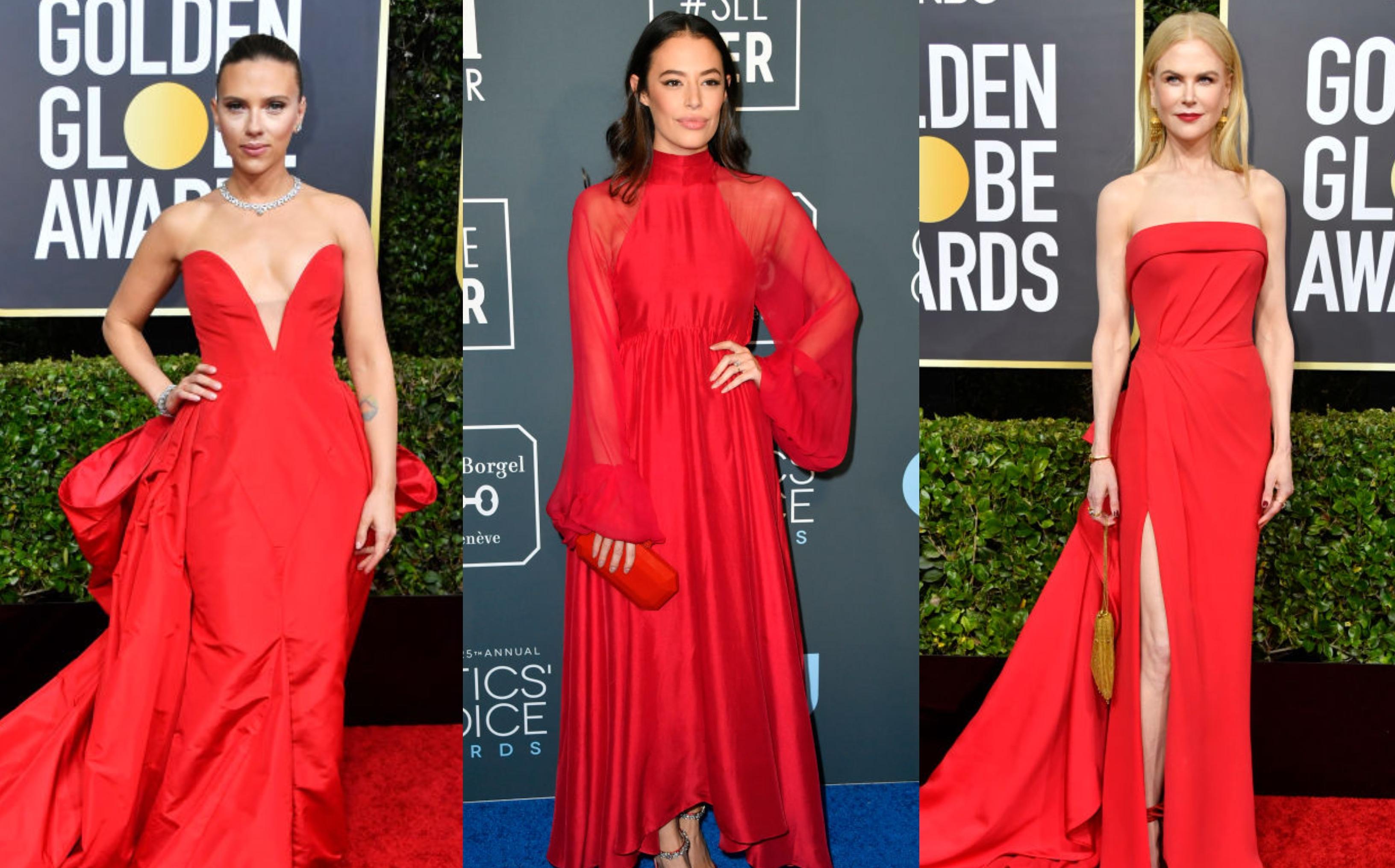 <p><strong>Червено</strong></p>  <p>Червеното е далечният братовчед на черното. То носи усещане за кралско великолепие. Все пак не забравяйте да внимавате с други елементи при избора на червен тоалет като например неговата дължина. Не рискувайте с прекалено къси поли и рокли, защото ефектът понякога се превръща в дефект.</p>