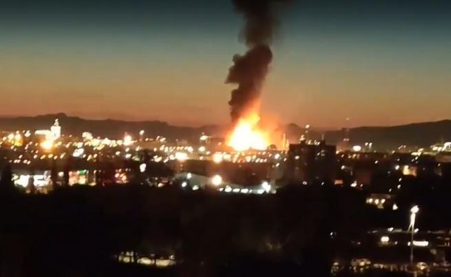 Огромна експлозия в химически завод в Испания