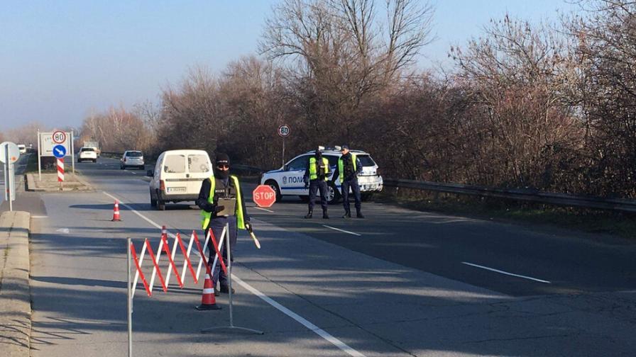 Блокираха изходите на Бургас