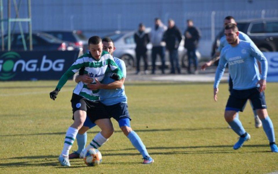 Черно море завърши 1:1 с Черноморец Бачлик в първата си