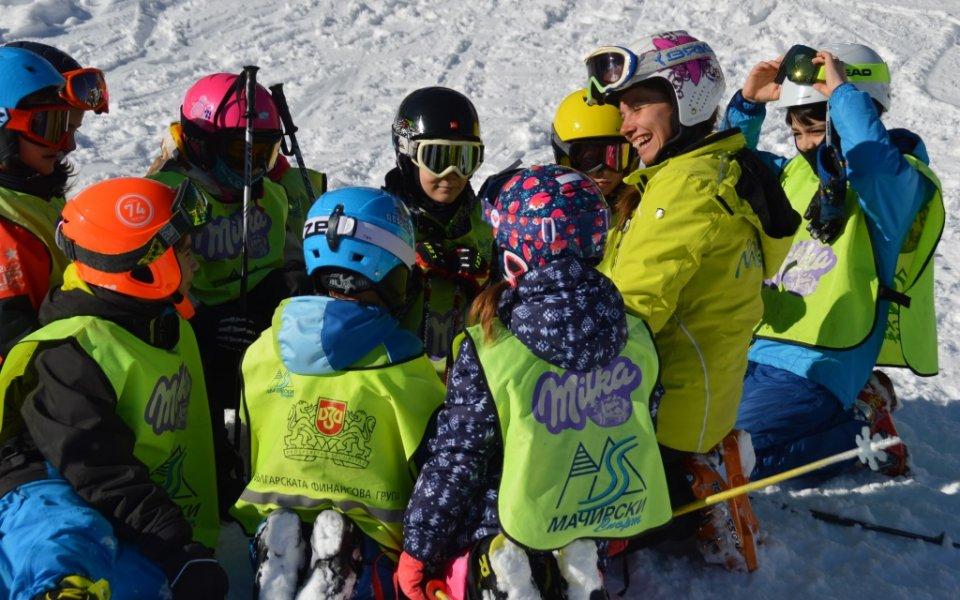 На Световния ден на снега децата срещу 1 лев на кабинковия лифт до Алеко