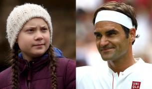 Федерер отвърна на критиката на Грета Тунберг