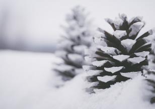 Първият сняг в Алпите подрани