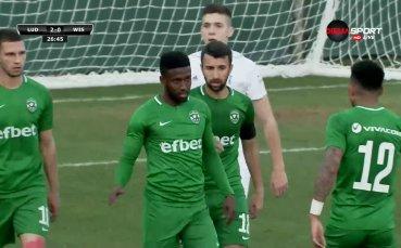 Два гола за Лудогорец срещу поляци