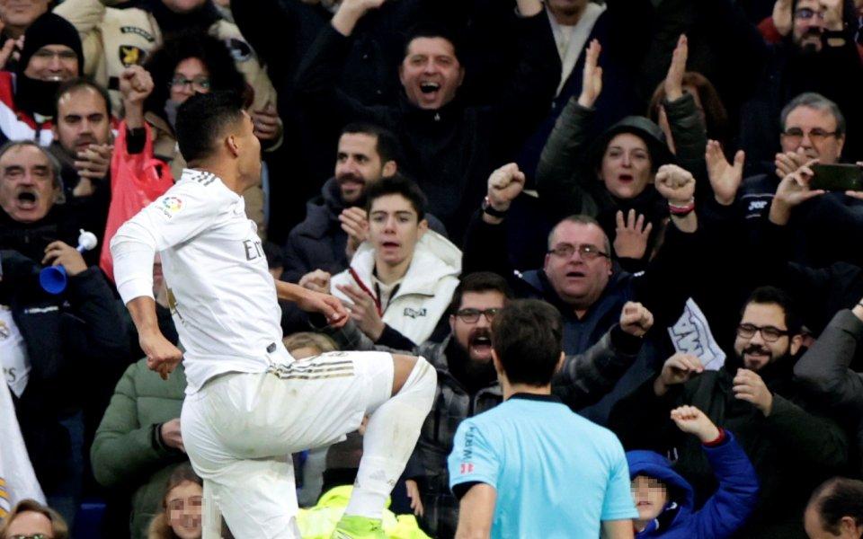 В двубой от 20-ия кръг на Ла Лига Реал Мадрид
