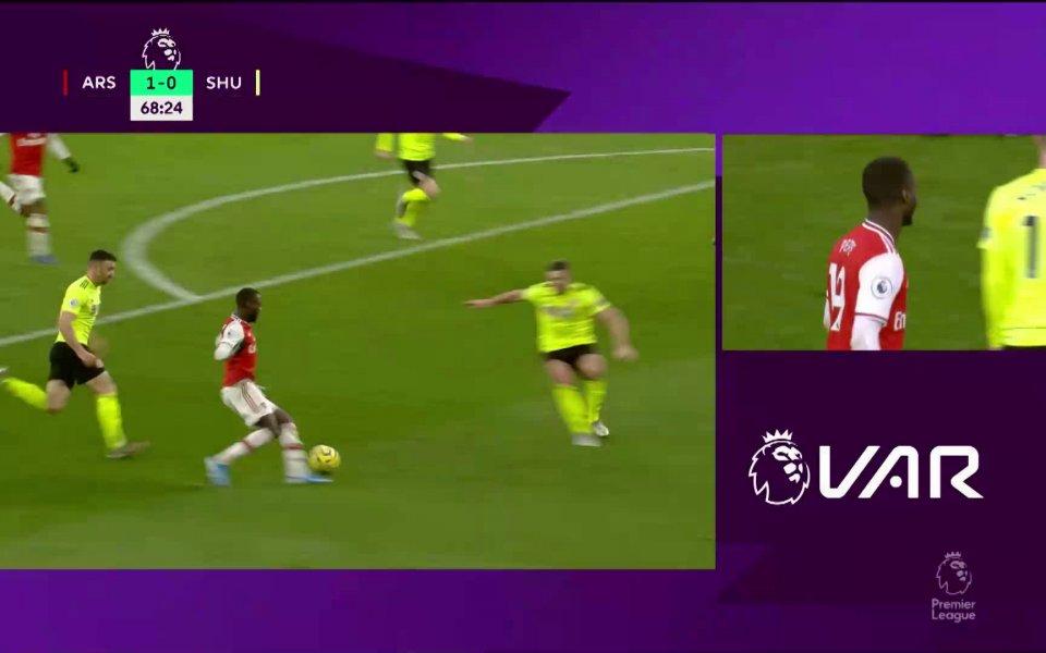 Вижте най-интересните моменти от равенството на Арсенал с Шефилд Юнайтед