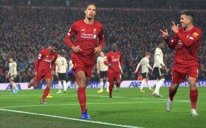 Перфектен Ливърпул мина и през Юнайтед, титлата е все по-близо