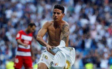 Арсенал сборва Анчелоти и Евертън за Хамес Родригес