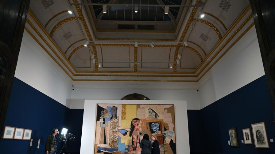 Пикасо в Кралската академия на изкуствата