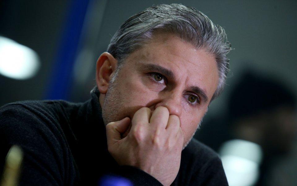 Изпълнителният директор на Левски - Павел Колев, обяви, че на