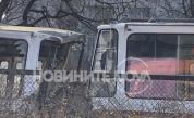 Четири трамвая се удариха в София, има жертва и ранени