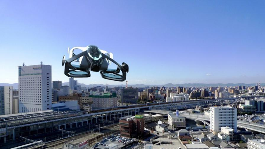 Тестват най-малката летяща кола в света