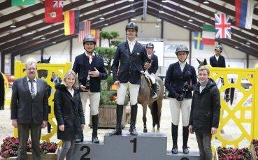 Наш ездач с второ място в Нидерландия