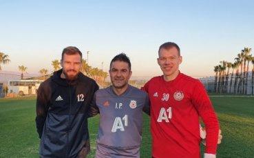 Треньор в ЦСКА: Имаме най-добрите вратари в България
