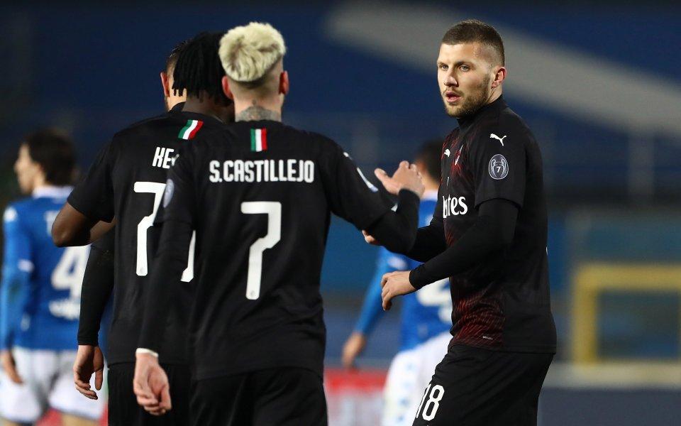 Хърватският национал Анте Ребич във втори пореден мач се превърна