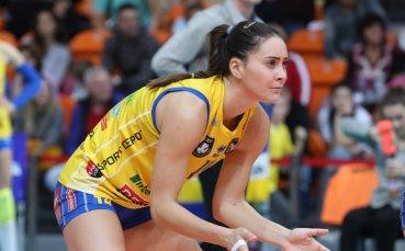 Десислава Николова ще доиграе сезона с лидера в Украйна