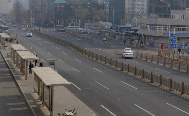Пекин след отмяната на новогодишните тържества