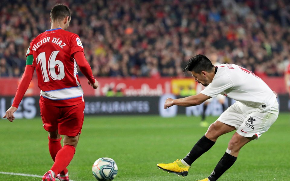 Отборът на Севиля се наложи с 2:0 над Гранада в