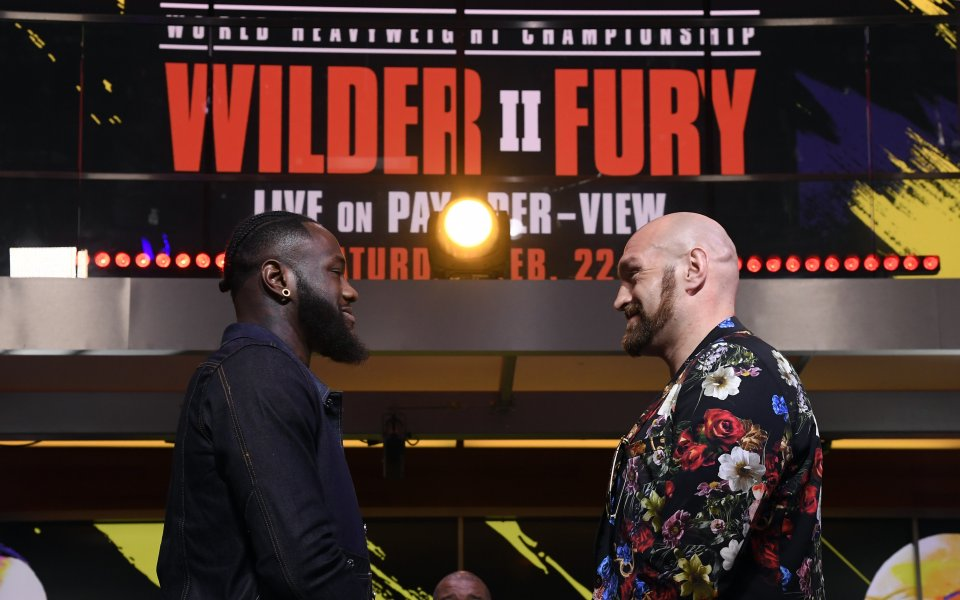 Световният шампион на WBC в тежка категория, Дионтей Уайлдър, и