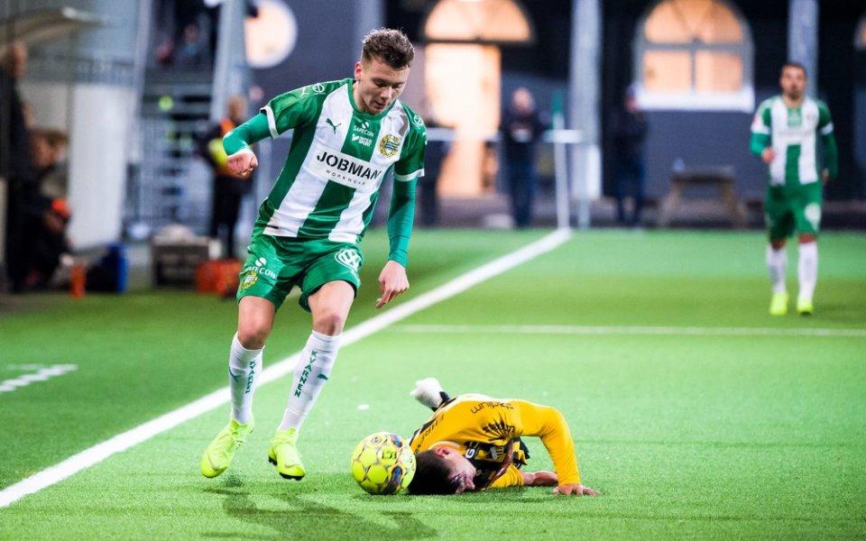 """Българският шампион Лудогорец се интересува отфутболистаДжейк Ларсон,това съобщава шведският """"Sportbladet""""."""