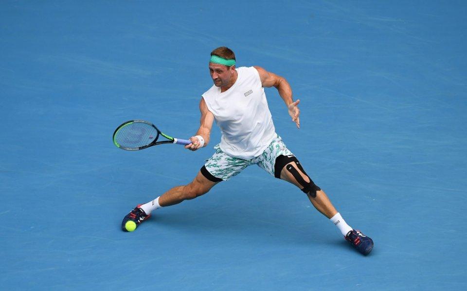 Американецът Тенис Сандгрен се класира за втори път на четвъртфиналите