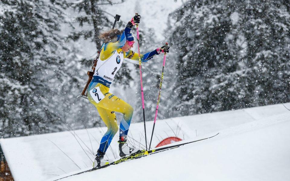Олимпийската и световна шампионка на 15 км Хана Йоберг от
