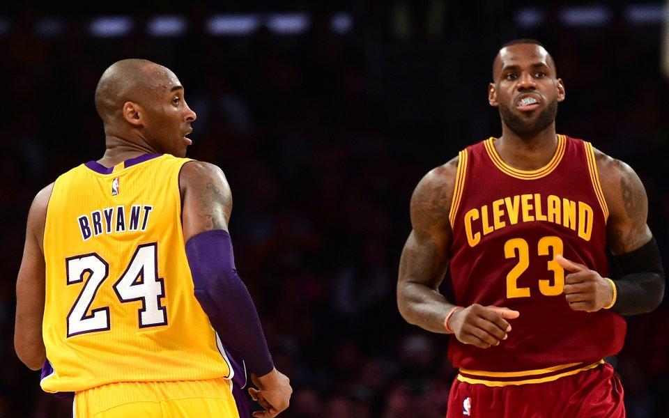Петкратният шампион на НБА с Лос Анджелис Лейкърс Коби Брайънт