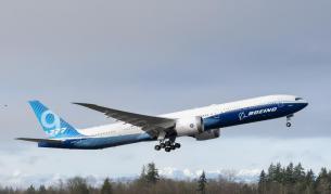 Boeing 777X направи успешен първи полет