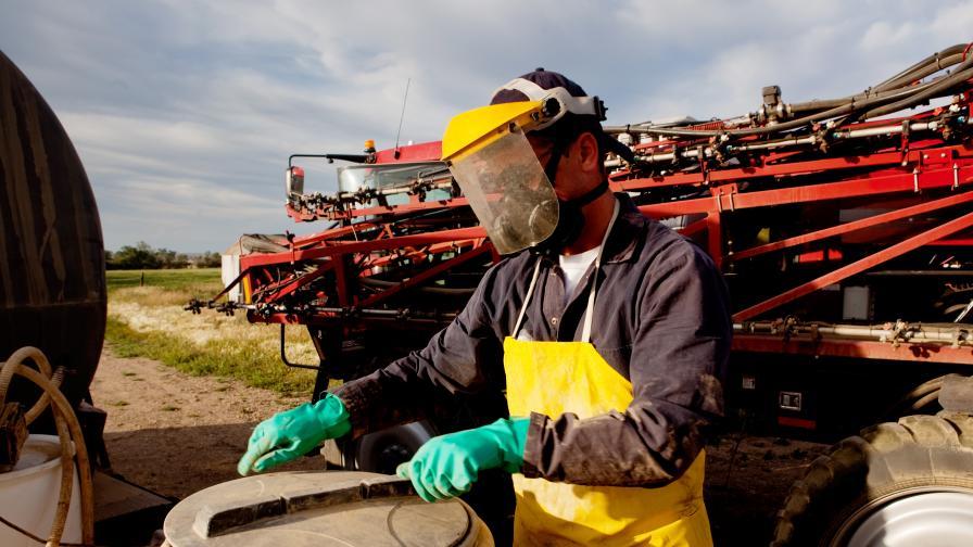 22,8 тона пестициди са събрани в община Червен бряг