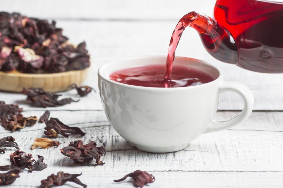 хибискус чай китайска роза