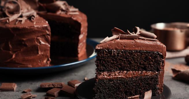 Днес тържествено може да се насладите нашоколадов десерт, тъй като