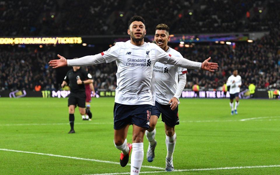Убедителният лидер във Висшата лига – Ливърпул, продължава да ниже