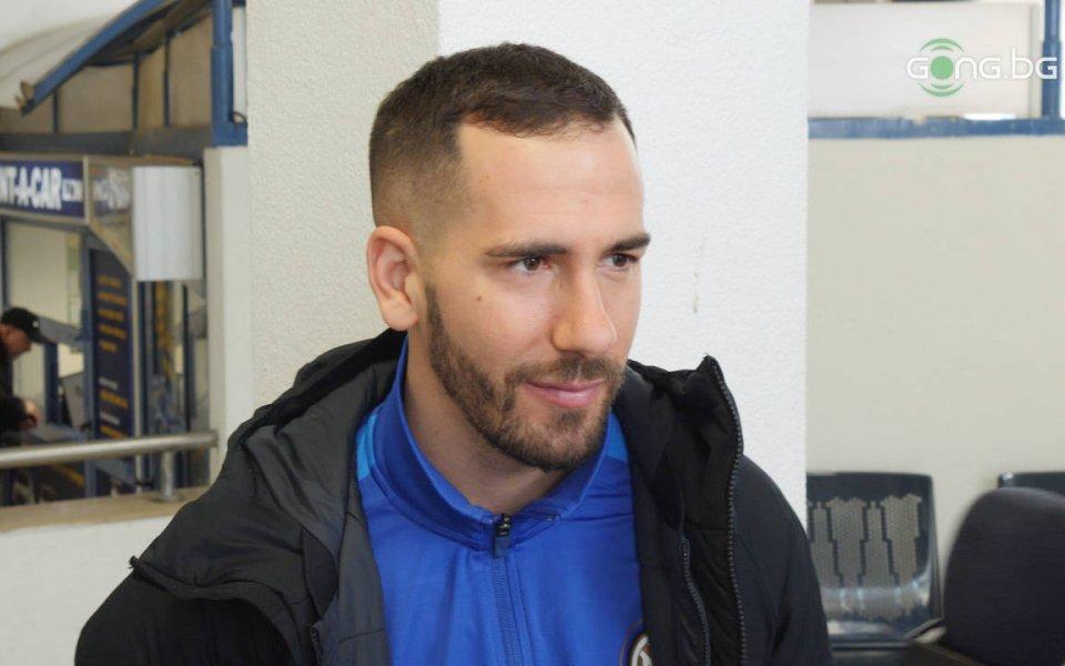 Треньорът от школата на Интер - Симоне Дел 'Акуа даде