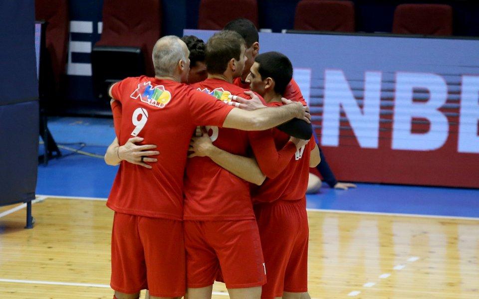Ветеранът в тима на ВК ЦСКА, Ивайло Стефанов, коментира победата