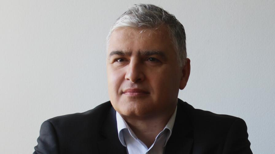Снимка: Александър Георгиев, председател на Комисията по хазарта