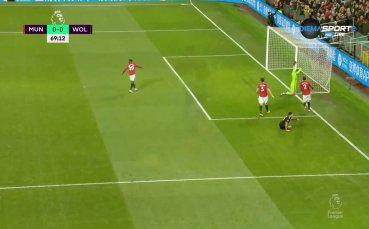 Манчестър Юнайтед - Уулвърхемптън 0:0 /репортаж/