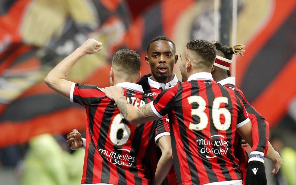 Ница изтръгна трите точки от Лион в касапски мач
