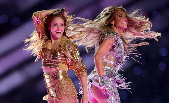Джей Ло и Шакира превзеха сцената на Супербоул