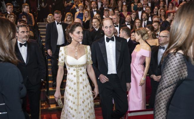 Брад Пит се шегува с Брекзит и Мегзит пред Уилям и Кейт