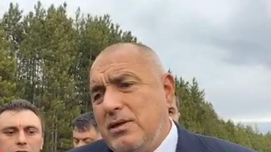 Борисов отговори за Радев: Съжалявам, че си е изпуснал нервите