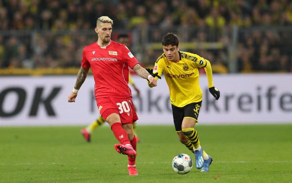 Халфът на Борусия Дортмунд Джовани Рейна стана най-младият играч на