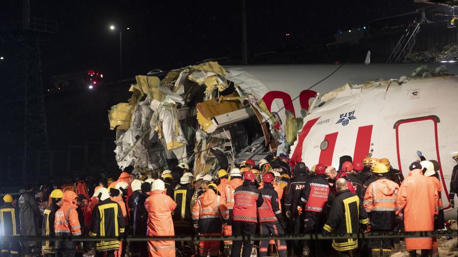 Още жертви на самолетната катастрофа в Истанбул