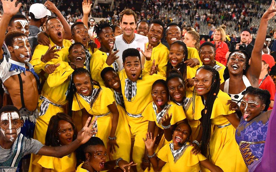 Федерер и Надал поставиха световен рекорд по посещаемост на тенис